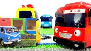 Автобус Тайо! Новый друг. Игрушки из мультфильма