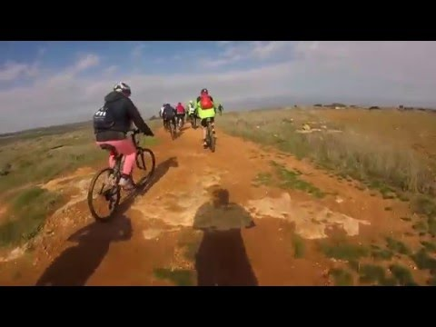Nicosia to Old Airport, a MTB ride with Podilates Lefkosias, 230116