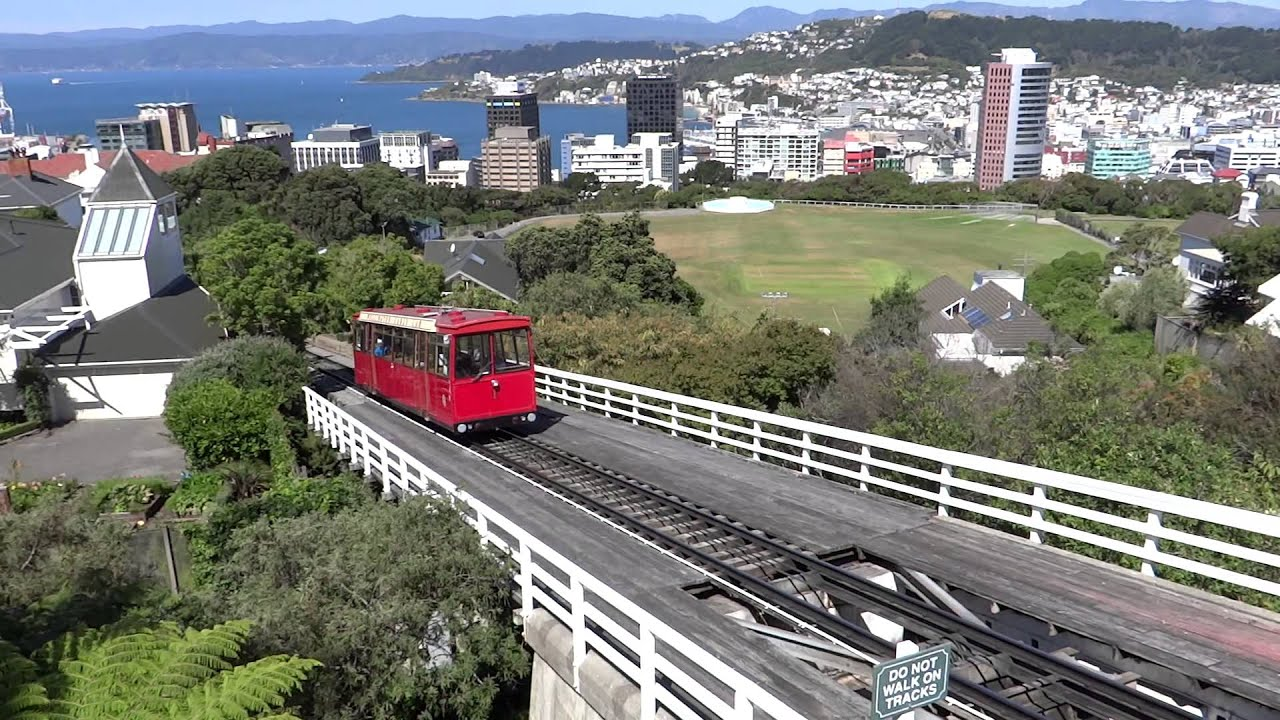 Cable Car In Wellington New Zealand Youtube