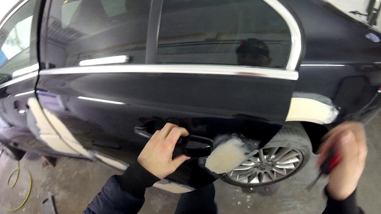how to remove door handle volvo s80 - YouTube