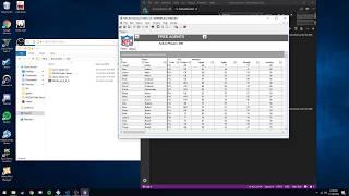 Upload new draft classes into ESPN 2k5 (using ps2 emulator)