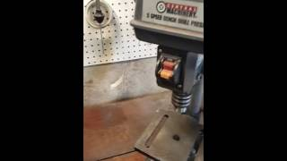Harbor Freight Drill Press Mods
