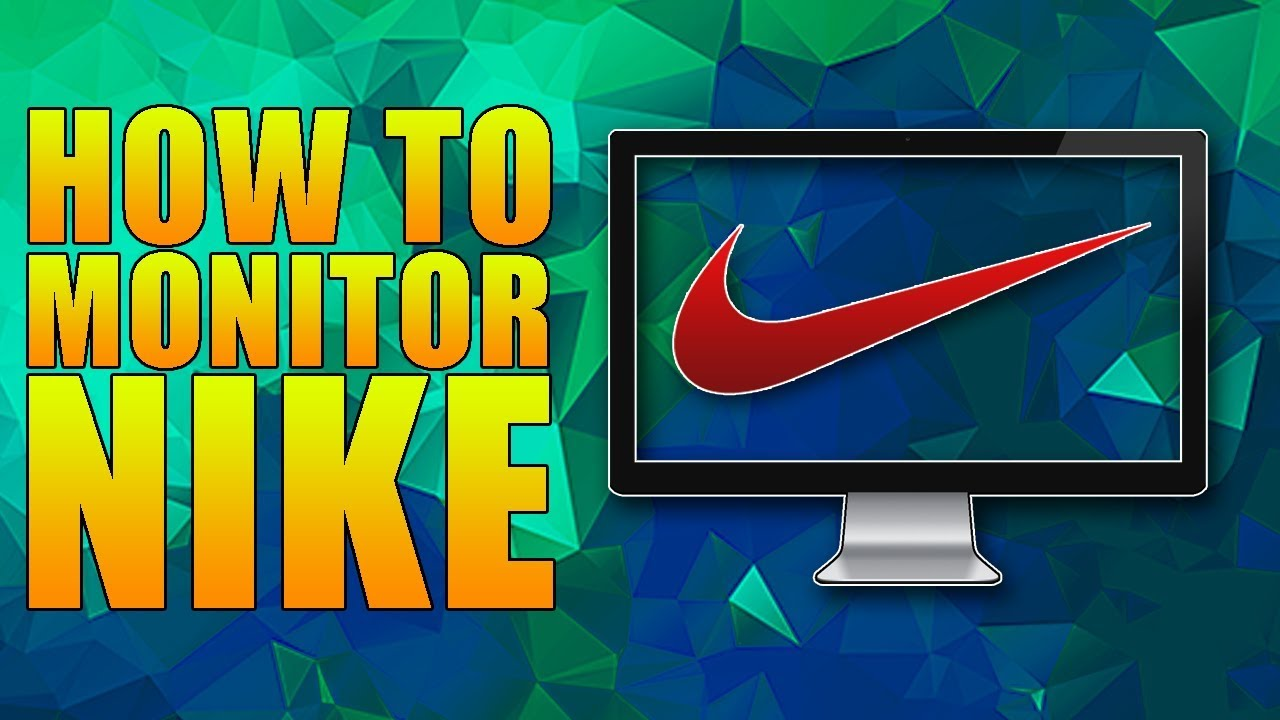 How to Monitor Nike For New Shoes - YouTube