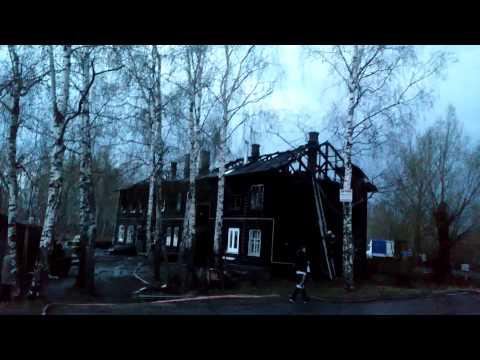 Пожар в Заволжске 3 мая