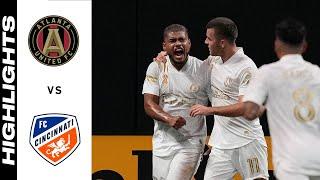 Атланта Юнайтед  4-0  Цинциннати видео