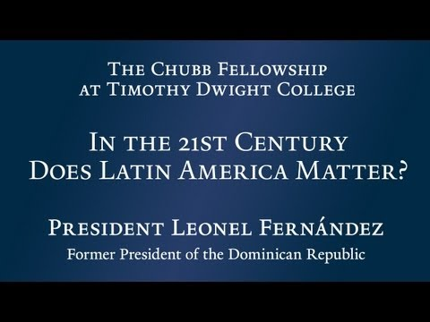 In the 21st Century Does Latin America Matter?