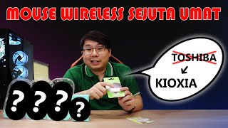 Logitech Mouse Wireless Silent Plus M331 - Hitam Merah Biru - L071