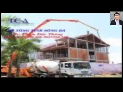 Trạm trộn bê tông - quy trình đổ bê tông công trình