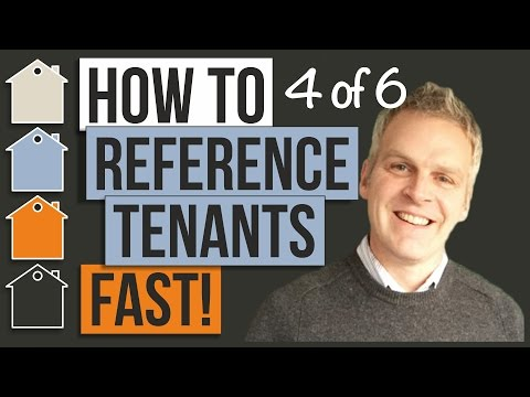 How to write a landlord reference letter uk