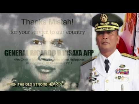 Strong Hearts: a tribute to former CSAFP Bong Visaya PMA Matikas '83: Usually sung by underclassmen for their