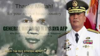 Strong Hearts: a tribute to former CSAFP Bong Visaya PMA Matikas '83