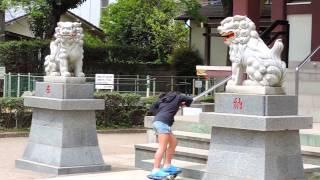 祭神:菅原道真 撮影・2014年4月20日(日) Nikon coolpix P520 【よろず...