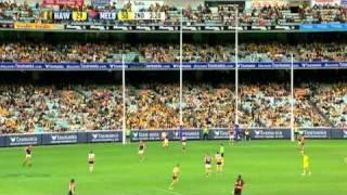 AFL 2011 - Round 2 - Hawthorn vs Melbourne - Game Highlights