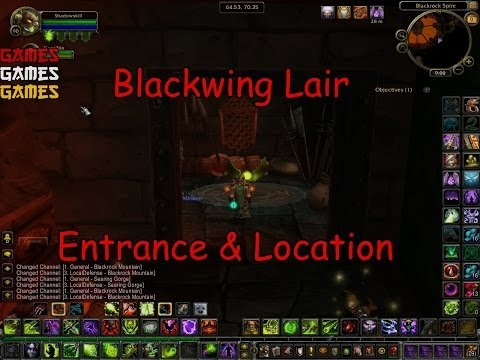 Blackwing Lair Raid Entrance and Location