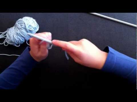 How To Knit For Kids Easy Casting On