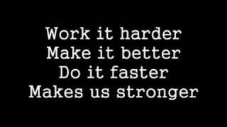 Harder Better Faster Stronger Lyrics