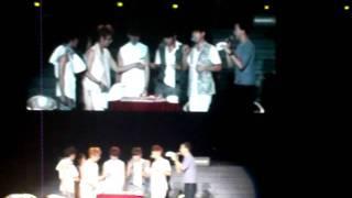 [ fancam ] 110701 Beast 1st Fan Meeting Asia Tour in Malaysia - Doo Joon's Birthday