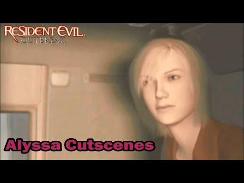 Resident Evil Outbreak: Alyssa Ashcroft Cutscenes