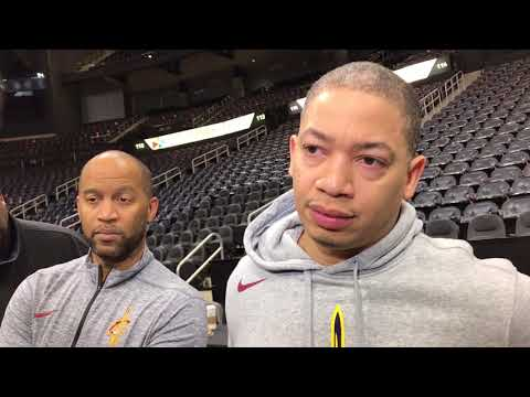 Cavs coach Tyronn Lue on adjusting with four new players
