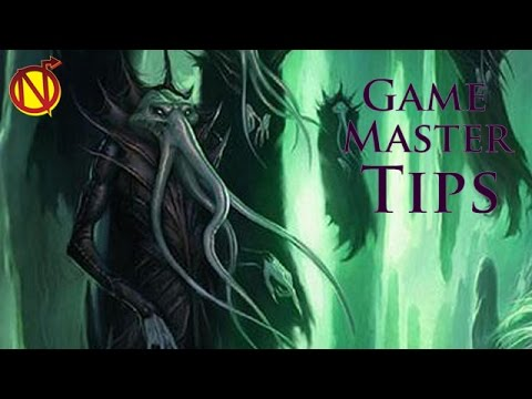 The Basics Of Building And Running Interesting Encounters| Game Master Tips