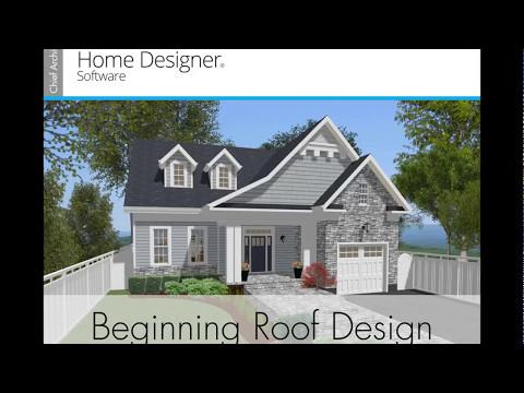 Home Designer 2018 Beginning Roof Design