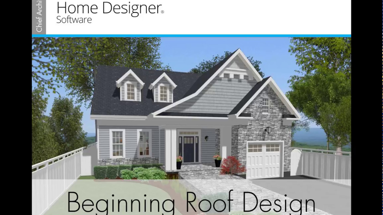 Home Designer 2018 Beginning Roof Design Youtube