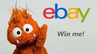 eBay Orange Monster Puppet