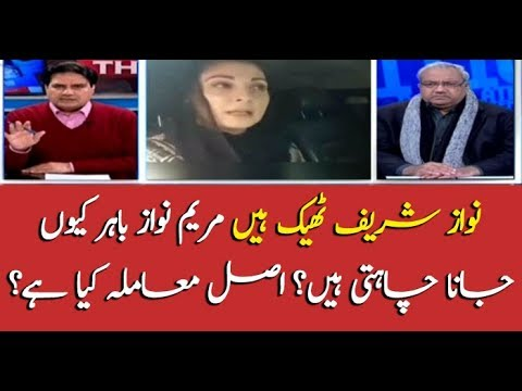 Why Maryam Nawaz plans to leave country?
