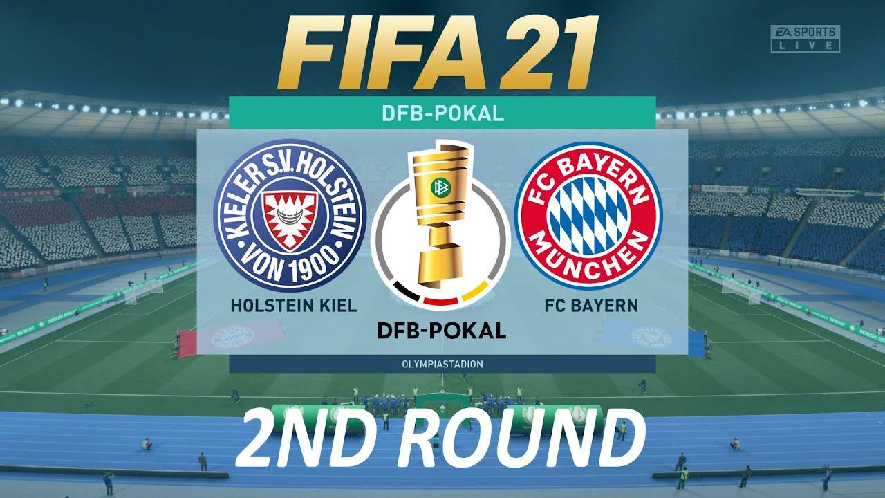 fifa 21 holstein kiel vs bayern munich dfb pokal 20 21 ps4 full match