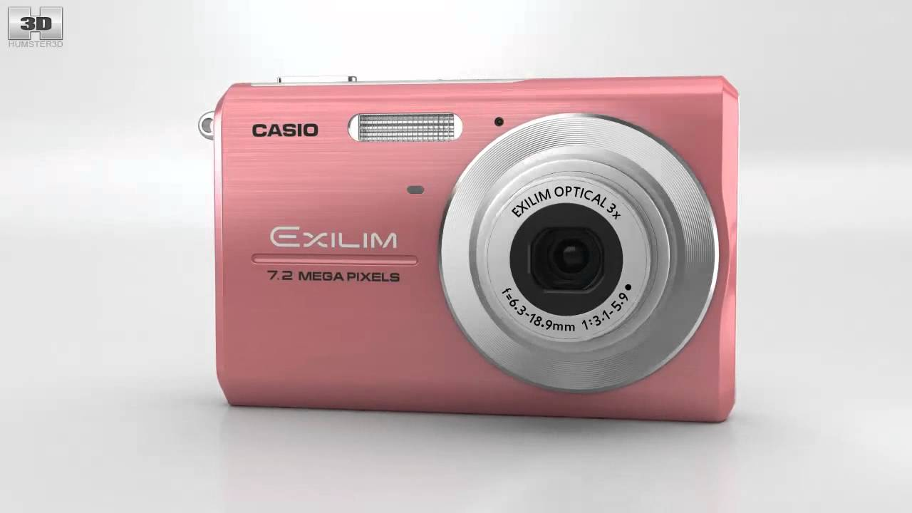 casio exilim ex z75 pink by 3d model store humster3d com youtube rh youtube com Digital Cameras Casio Instruction Manual Casio Exilim Ex S10 Manual