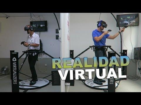 Pruebo lo último en realidad virtual en Santander: HTC Vive, Oculus Rift y Virtualizers