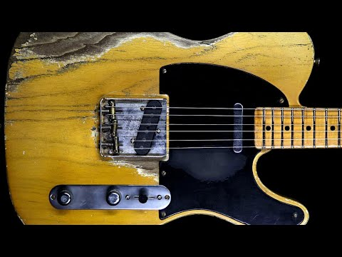 Melancholy Blues Rock Guitar Backing Track Jam In G Minor