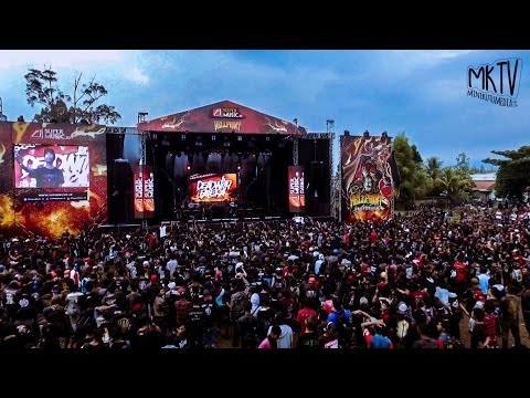 DEAD WITH FALERA - Chupacabra Live at Hellprint United Day V