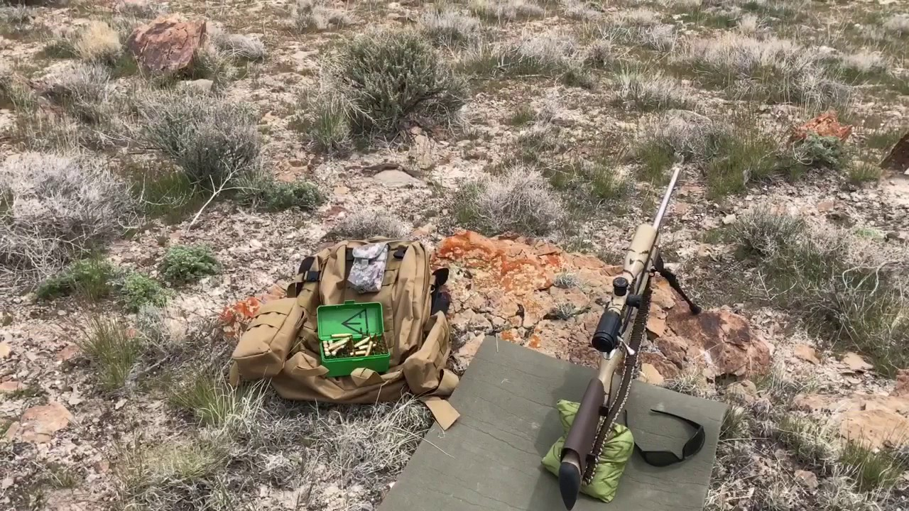 Long Range Target Hunt Tikka T3x 243