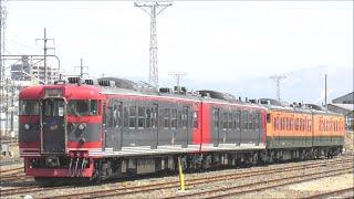 廃車回送された しなの鉄道115系S25編成&S27編成 廃車置き場に留置される!2021.3.18 JR長野総合車両センター  panasd 2254