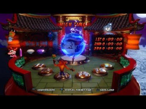 Crash Bandicoot N. Sane Trilogy High Time Purple Gem