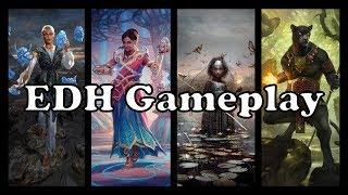 EDH Gameplay - Episode 14: Estrid VS Saheeli VS Aminatou VS Lord Windgrace