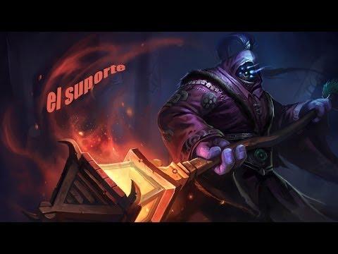 League of Legends Jax sup carry o jogo João mute