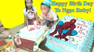 Happy birthday Chúc Mừng SInh Nhật Ngọc Ruby❤Baby channel❤
