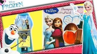 Unboxing Frozen Easter Egg Frozen Candy Dispenser | Kimyokitten