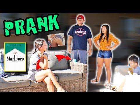 SMOKING CIGARETTE PRANK ON HUSBAND!! | 99.1 KGGI | ODM