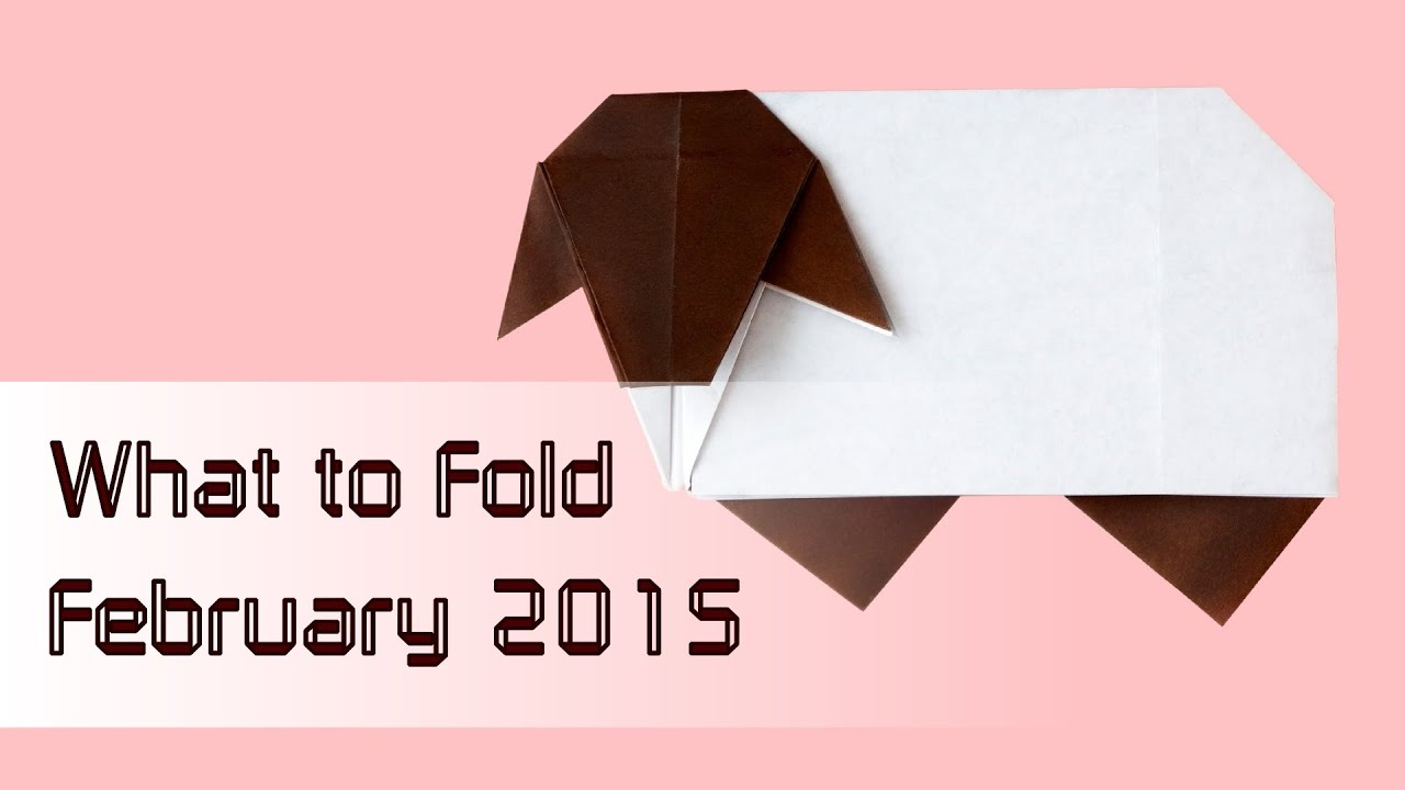 Year Of The Sheep Origami Recommendations What To Fold February 2015