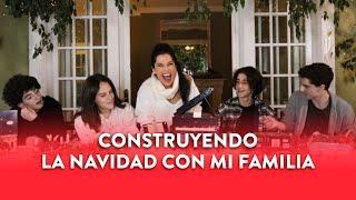 Construyendo la Navidad con mi familia   Martha Debayle