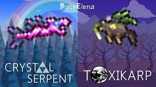 Terraria 1.3 : Crystal Serpent & Toxikarp - สุดยอดมัจฉาที่แฝงพลังอันทรงประสิทธิภาพ !! (ไทย)