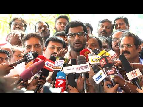 Vishal speech after the fight in producer council meeting |Vishal|T Rajendar| Cheran