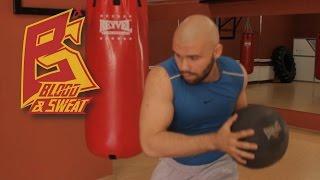Набивной мяч и взрывная сила. Техника бокса. Игорь Смольянов и Вели Мамедов.