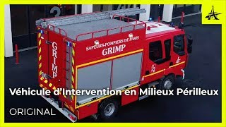 Découvrez un camion de pompiers : le Véhicule d'Intervention en Milieu Périlleux