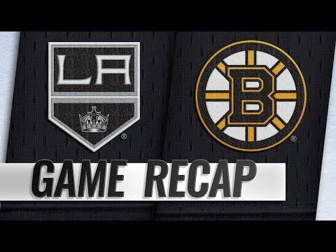 Bergeron's overtime goal helps Bruins top Kings