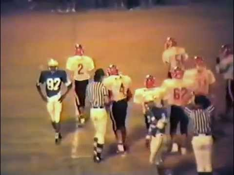 1989 Stilwell Indians at Checotah Wildcats Football