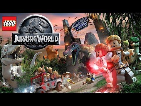 1 hour of LEGO Jurassic World hub theme